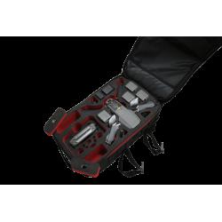 Mavic 2 Ready-to-Fly Outdoor Rucksack: Variante Schwarz Rot-Schwarz gefüllt