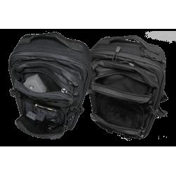 Mavic 2 Ready-to-Fly Outdoor Rucksack: Fronttaschen nutzbar für weitere Akkus und anderes Zubehör