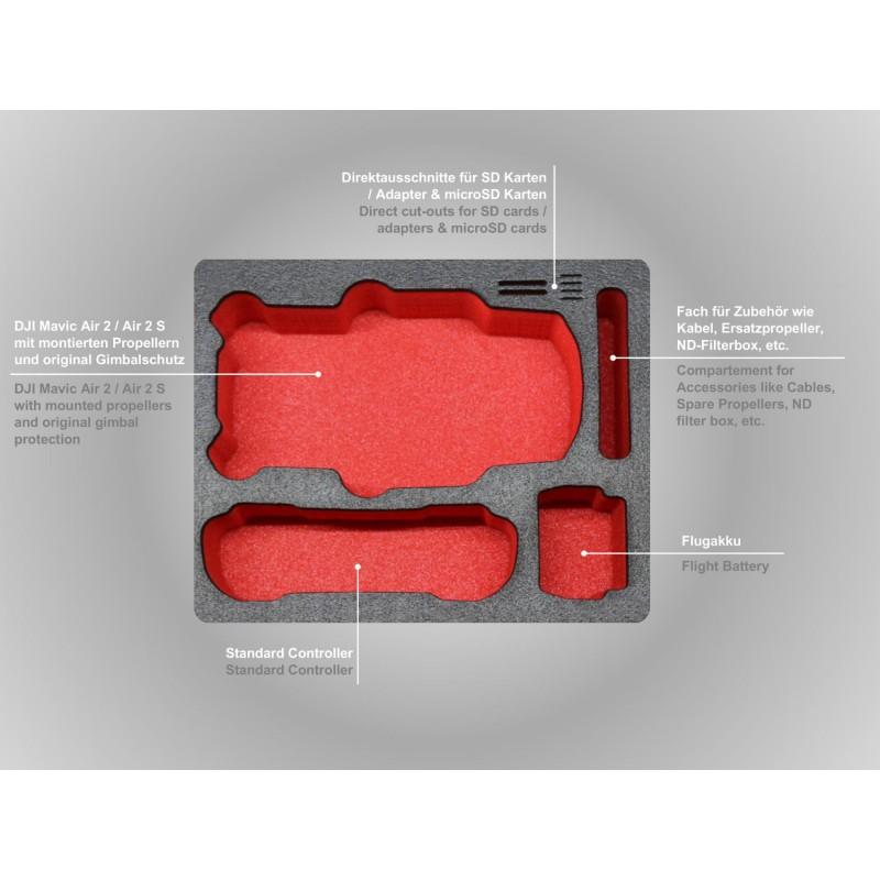 XT235 Mavic Air 2 Compact Edition Inlay